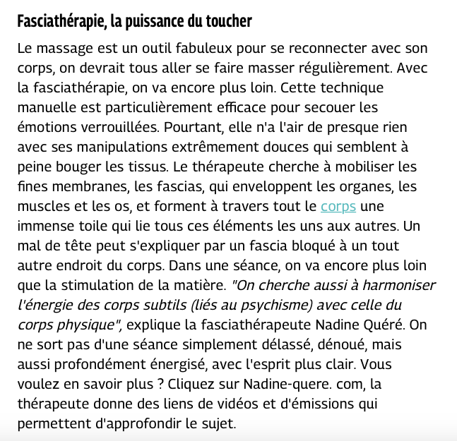 ARTICLE GRAZIA CLAIRE DHOUAILLY